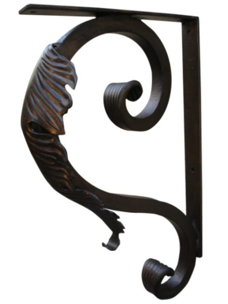 beautiful-leaf-iron-support-bracket