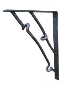 large-contemporary-wrought-iron-bracket