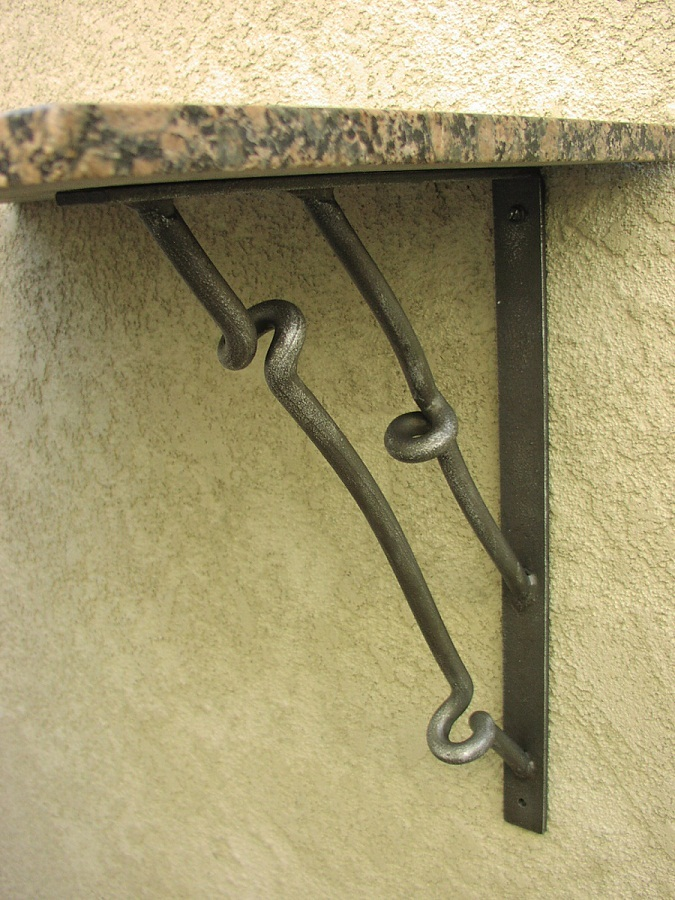 Contemporary Coil Full Counter Angle Bracket Shoreline