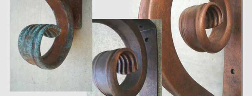 standard wrought iron angle bracket
