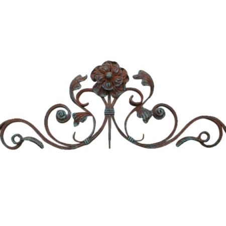 flower-iron-wall-decor