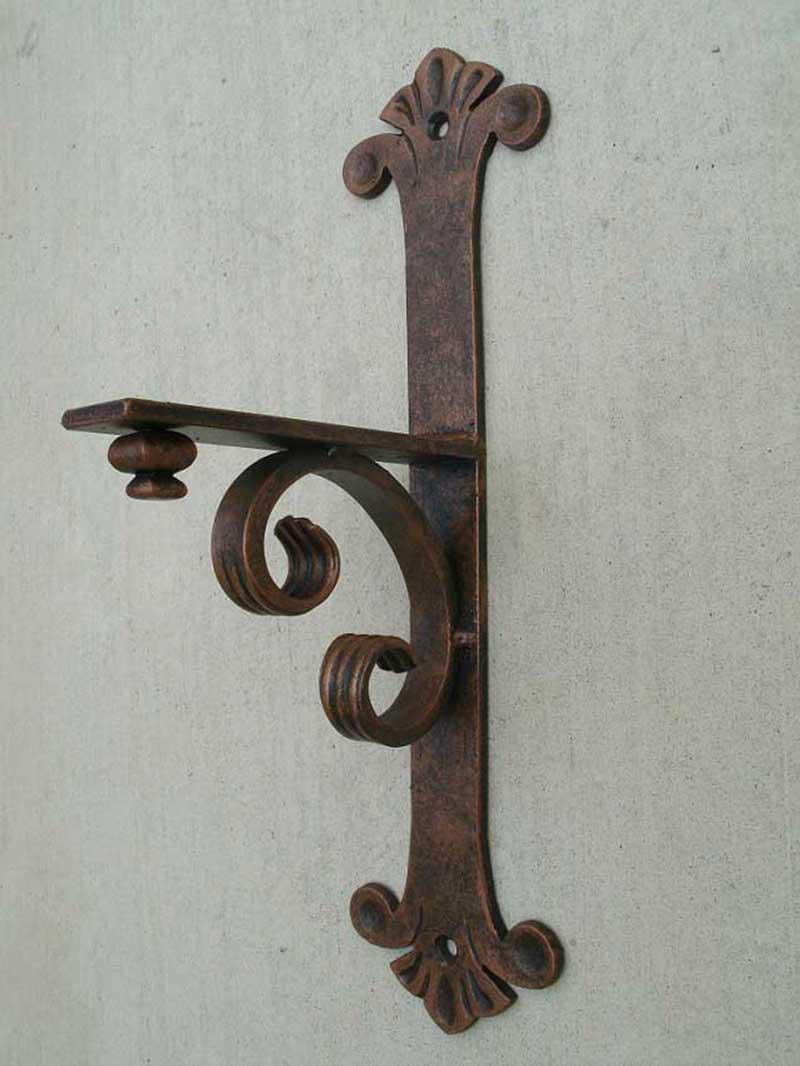 Iron Mantel Bracket Small Shoreline Ornamental Iron