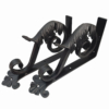 small-iron-leaf-angle-bracket