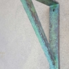small metal decorative support bracket