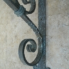 large iron heavy duty angle bracket