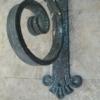 large iron heavy duty angle bracket