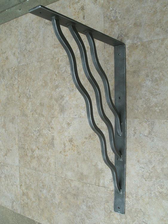 Large Unusual Decorative Metal Corbel Shoreline