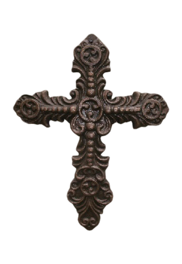 decorative-cast-iron-wall-cross