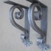 Iron Bracket Thick Small Heavy Duty