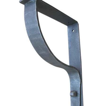 contemporary iron support bracket