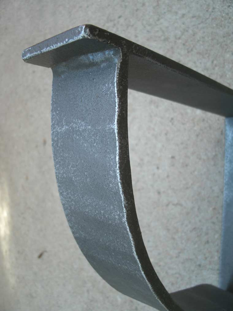Contemporary Iron Angle Support Bracket Shoreline