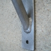 small iron shelf bracket