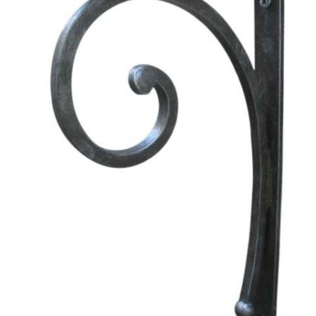 Wrought Iron Angle Bracket-Medium
