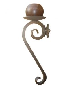 large-iron-candle-wall-sconce