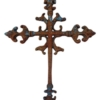 unique cast iron wall mount cross