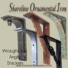wall mount iron angle bracket heavy duty