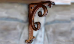 Wrought Iron Angle and Shelf Brackets by Shoreline Ornamental Iron