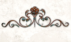 Cast Iron Wall Decor by Shoreline Ornamental Iron