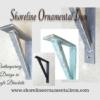 Wrought iron corbels-Decorative
