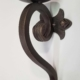 small iron wall sconce on sale