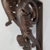small-iron-leaf-angle-bracket