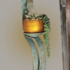 Iron Plant Holder/Candle Sconce-Decorative-Custom