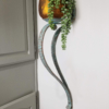 Large Iron Wall Sconce/Plant Holder