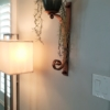 "20"" Large Wall Candle Sconce"